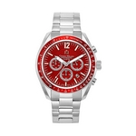 219 - Men%27s Giorgio Milano Stainless Steel Watch - Red